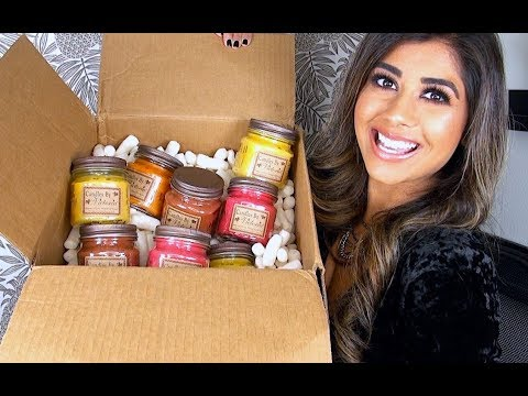 HOLIDAY CANDLE HAUL ❄ Candles by Victoria!