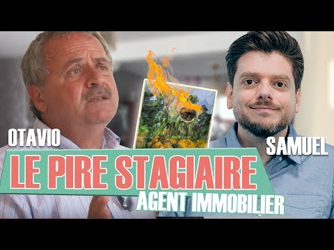 Le Pire Stagiaire : l'agent immobilier (version longue) / Worst trainee ever : real estate