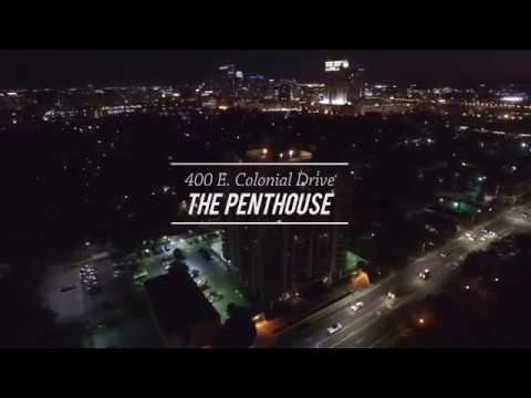Orlando Real Estate ~ The Penthouse ~ 400 E. Colonial Drive