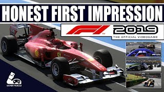 F1 2019 Game - Honest first impression Review