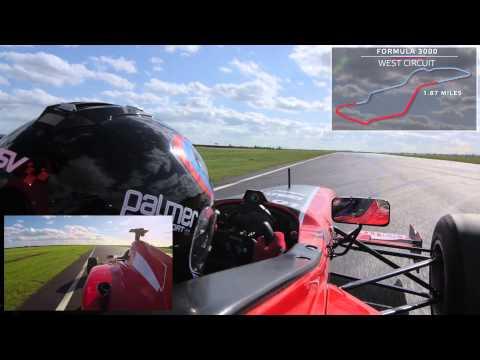 Formula 3000 On-board Lap - PalmerSport 2015 at Bedford Autodrome