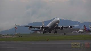Iberia A340-600 Despegue MROC/SJO - Costa Rica
