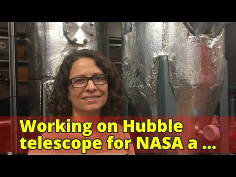 Working on Hubble telescope for NASA a 'surreal' experience says Lakehead University grad