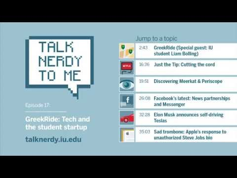 Talk Nerdy To Me, Ep. 17: GreekRide: Tech and the student startup