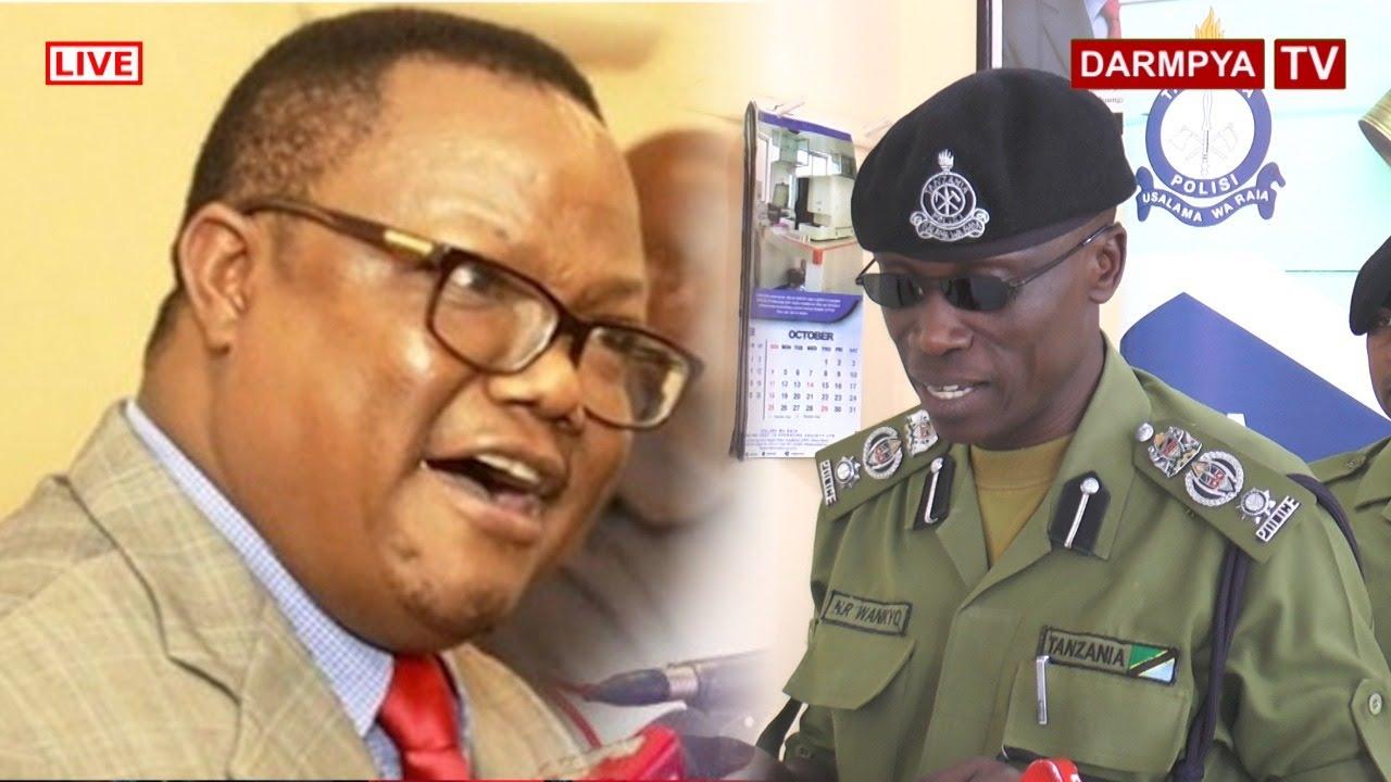 Download #BREAKINGNEWS: POLISI WATOA SABABU ZA KUMZUIA TUNDU LISSU NA MSAFARA WAKE