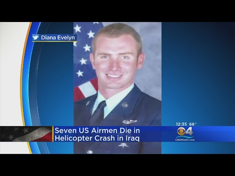 Miami Native Among 7 US Service Members Killed In Chopper Crash In Iraq
