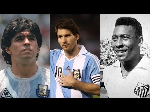 Messi vs Pelé vs Maradona ● Best Goals Battle |HD|