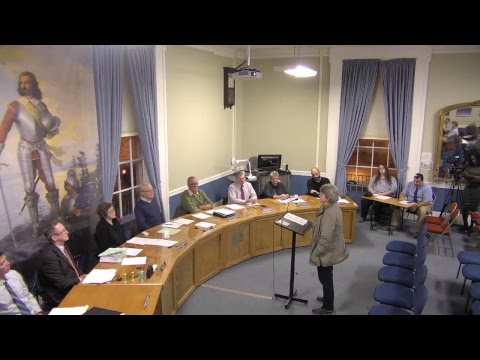 City of Plattsburgh, NY Meeting  11-16-17