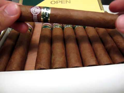 Montecristo Open Eagle Unboxing Cuban Cigar Review - YouTube