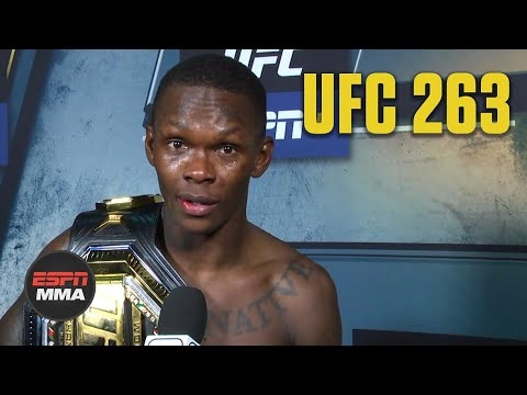 Israel Adesanya talks #UFC263 win over Marvin Vettori, why he called out Robert Whittaker | ESPN MMA