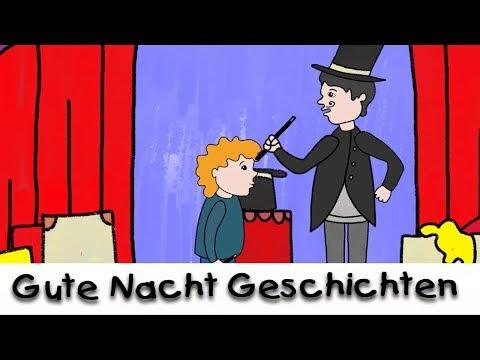 Gute Nacht Geschichte: Der Zauberlehrling    Geschichten für Kinder