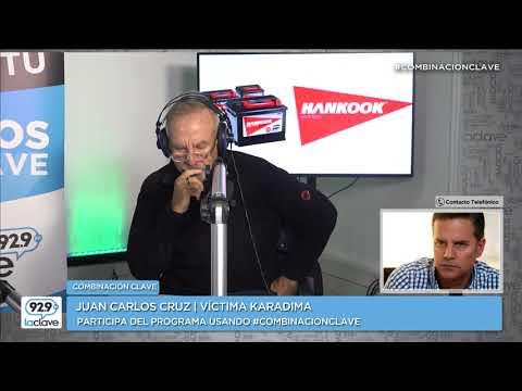 """Juan Carlos Cruz en Combinación Clave: """"Nunca pensé que iba a llegar este día"""""""