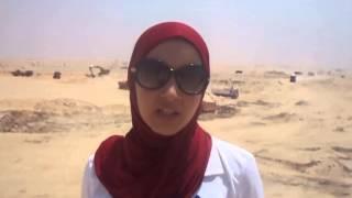 فرحة بنات مصر فى اول موقع حفر بقناة السويس الجديدة أغسطس 2014