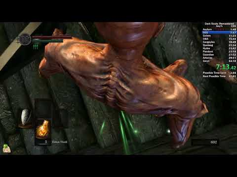 Dark Souls Remastered Any% in 32:56 IGT