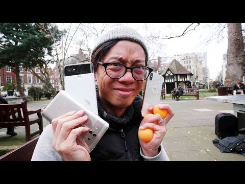 Apple IPhone X Vs Google Pixel 2i Vs Samsung S9+ Vs Huawei Mate 10 Camera Comparison!!
