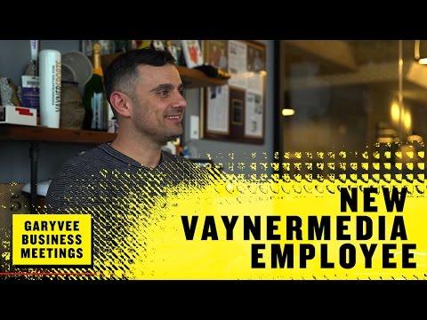 One on One Meeting with a New VaynerMedia Employee | GaryVee Business Meetings