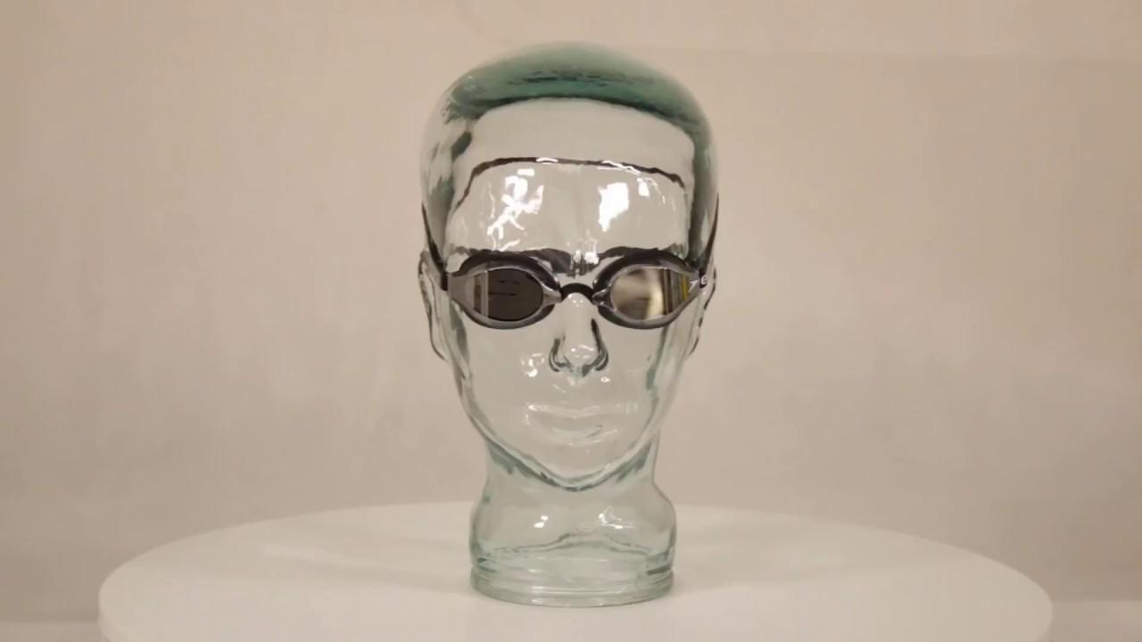 316fd26790a71 Speedo Fastskin Speedsocket 2 Mirror Swimming Goggles Black/Mirror ...