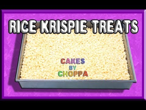 Best rice krispie treat recipe for novelty cakes youtube best rice krispie treat recipe for novelty cakes ccuart Image collections