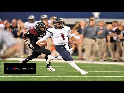 Kyler Murray [TEXAS A&M COMMIT]  (Allen, Texas) : 2013 Junior Year Football Highlights