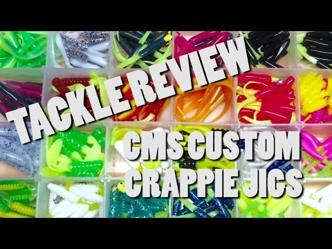 Tackle Review // CMS Custom Crappie Jigs