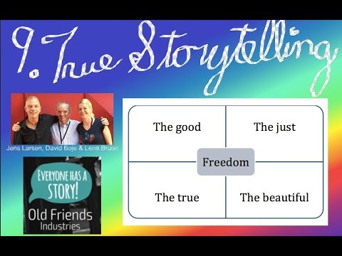 What is True Storytelling?