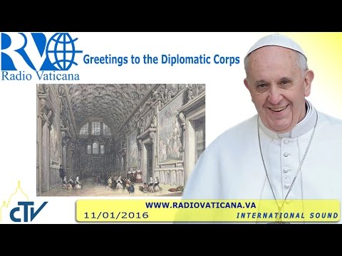 Greetings to the Diplomatic Corps - 2016.01.11