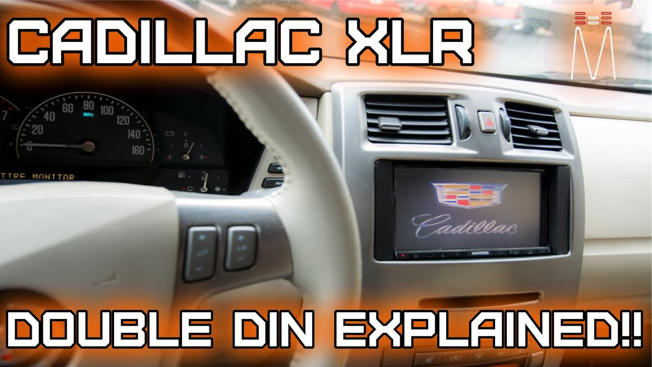 maxresdefault cadillac xlr double din radio install retaining bose, onstar  at n-0.co