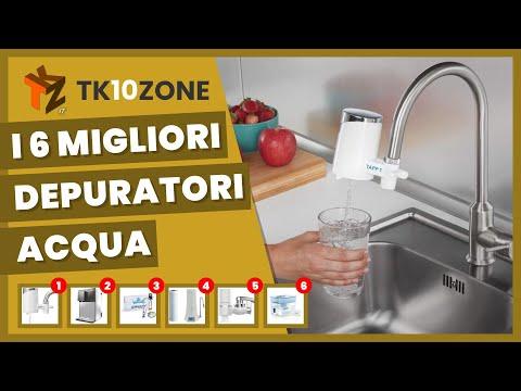 I migliori depuratori acqua da installare a casa tua