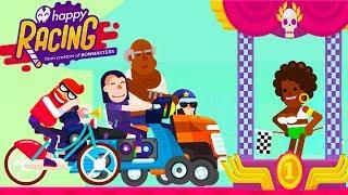Безумные ГОНКИ на ВЫЖИВАНИЕ! Игра Happy Racing Прохождение от Cool GAMES