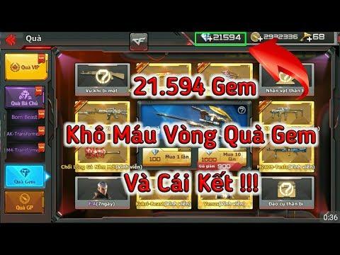 CF Mobile/CF Legends | Đập Phá 21.594 Gem Khô Máu Vòng Quà Gem Và Cái Kết !!!| Tường Trần CFM