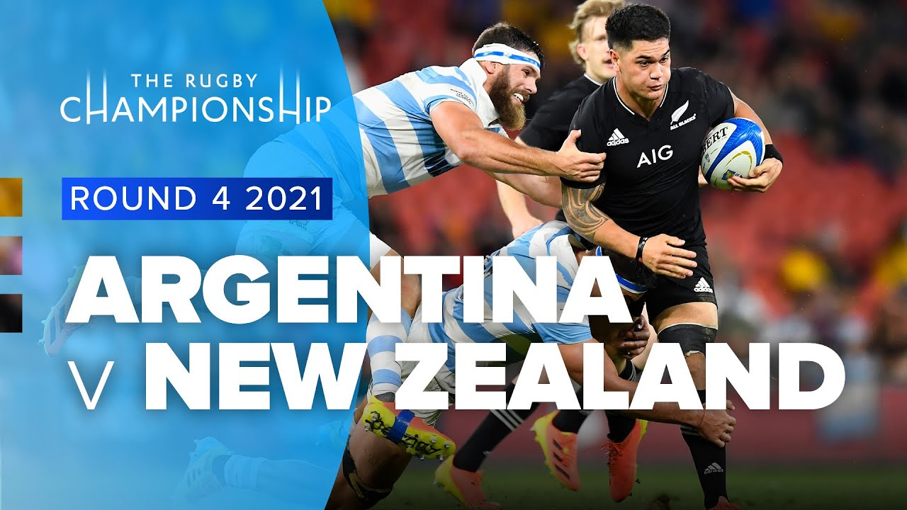 Download The Rugby Championship   Argentina v New Zealand - Rd 4 Highlights