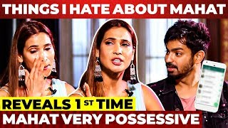 """Mahat Whatsapp Messages-அ நான் Check பண்ணேன்..."" Mahat & Prachi Couple Interview"