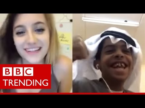 Abu Sin, the Saudi teen arrested for flirting online - BBC Trending