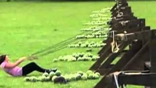 Amazing Race Watermelon Face SmashVideo