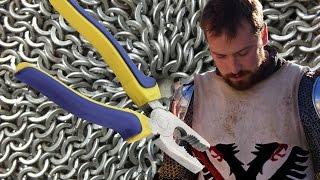 Кольчуга. Как сделать кольчугу? Урок 1. Базовое плетение.