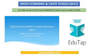 socio-economic-and-caste-census-secc-explained-for-rbi-and-nabard-2018