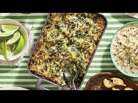 Cheesy Collard Dip | Southern Living