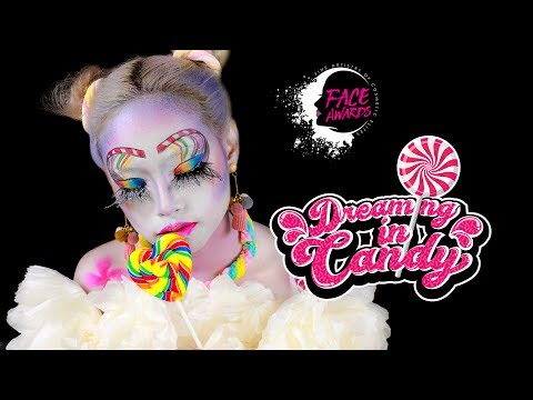 Dreaming In Candy - TOP 15 NYX FACE Awards Indonesia 2017 | Amyra Irzanti