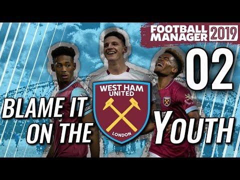 FM19 West Ham Ep 2 - TACTICS - Football Manager 2019 Let's