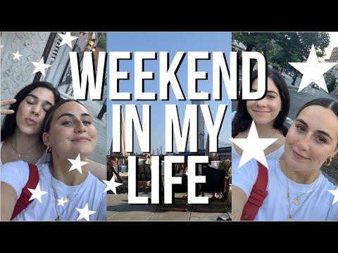 WEEKEND IN MY LIFE | JOHN MAYER MSG, DUMPLINGS AND POOL