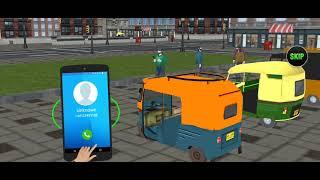Modern Tuk Tuk Auto Rickshaw: Free Driving Games screenshot 3