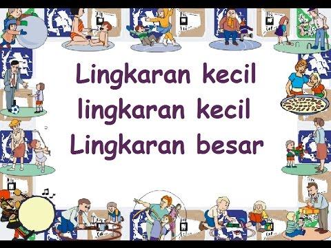 LINGKARAN KECIL (LIRIK) - Lagu Anak - Cipt. .......... - Musik Pompi S.