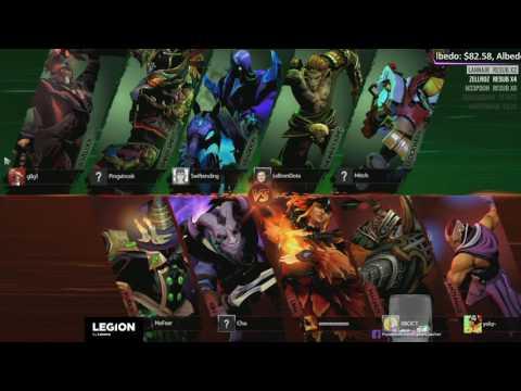 [LIVE-THAI] SLi Invitational 2 EU Qualifier - Element Pro vs Cyber Anji # Game 2
