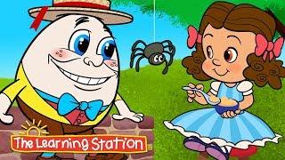 Funky Nursery Rhymes ♫ Brain Breaks ♫ Kids Action Songs ♫ Dance Songs Kids ♫ by The Learning Station