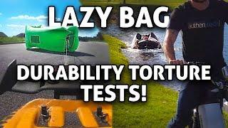 Lazy Bag TORTURE Durability Test!! AeroBon vs ChillaX (Portable Inflatable Lounger)