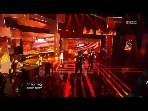 Phantom(feat.  MIJI) - Burning, 팬텀(feat.미지) - 버닝, Music Core 20120908