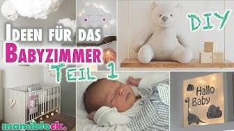 Ideen für das Babyzimmer | DIY | Roomtour | Kinderzimmer | mamiblock