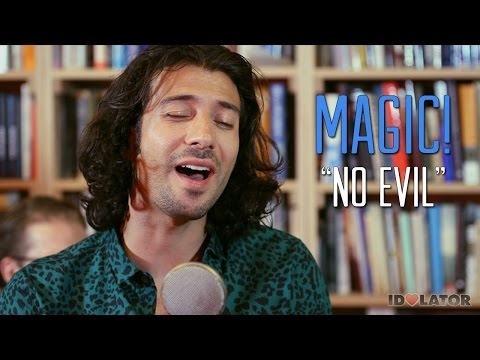 "Exclusive: MAGIC! ""No Evil"" Live First Time Acoustic Performance: Idolator Sessions Download"