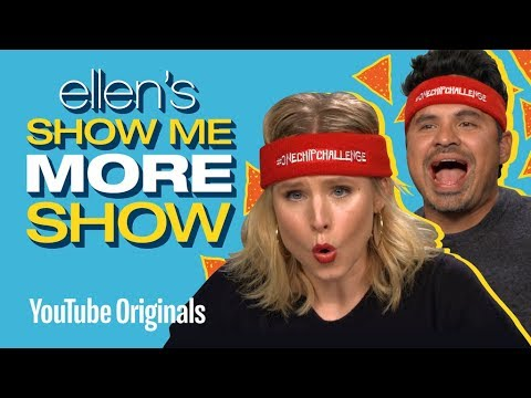 One Chip Challenge with Kriste kristen bell