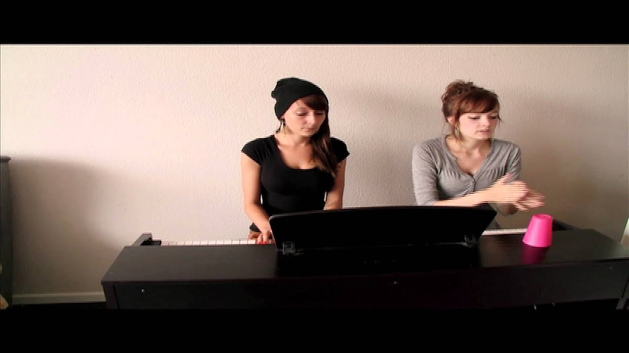 cup song cover german lyrics piano youtube. Black Bedroom Furniture Sets. Home Design Ideas